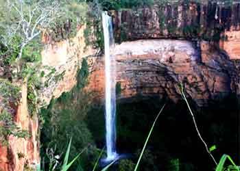 12 destinos nacional para os amantes de cachoeiras
